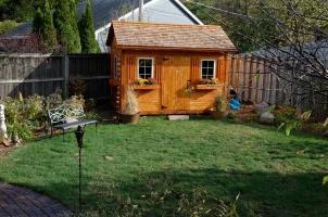 Cedar Garden Shed 2