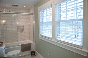 New twin windows were installed to maximize natural light and a gorgeous view.