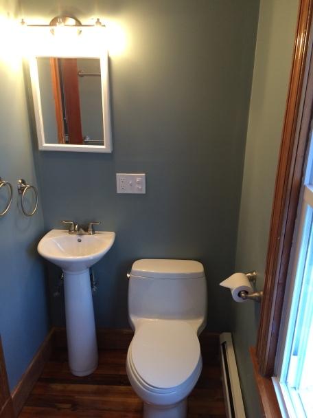 First Floor Bathroom (After Renovations)